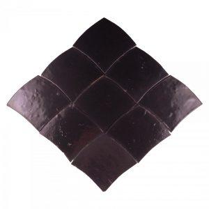 Ecail 801 Noir Zelliges Carreaux de Style