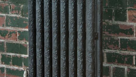 Radiateur fonte motif floral_7 Carreaux de Style