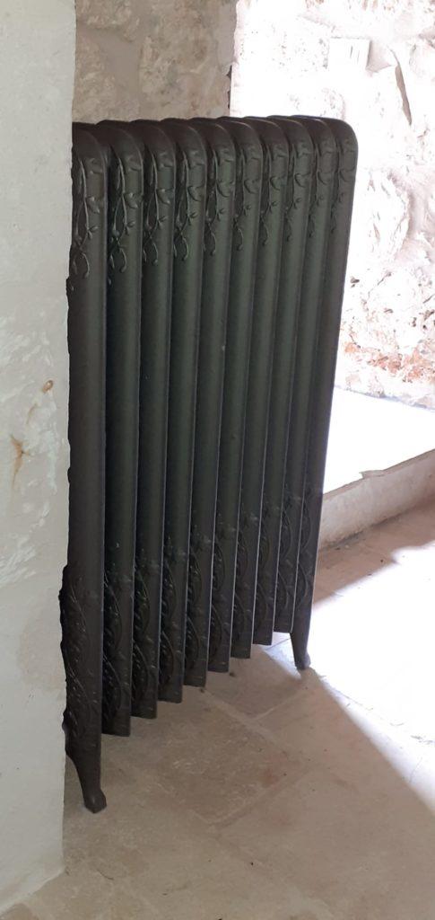 radiateur fonte 4 Carreaux de Style